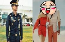 ทหารหล่อคนนี้ ที่ปิ๊งรักดาราสาวหน้าหมวยกลางกอง ที่แท้คือคนนี้