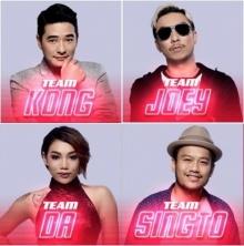 โฉมหน้าลูกทีมของโค้ชทั้ง 4 The voice Thailand 5 หลังจบรอบ Bliand Auditions