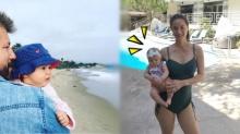 คุณแม่หุ่นยังเป๊ะ!! น้ำฝน กุลณัฐ กับ น้องทาเลีย ลูกสาววัย 3 เดือน น่ารักมาก!!