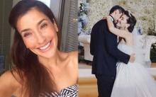 """ชีวิตดี๊ดี!!! """"แองจี้ เฮสติ้งส์"""" โพสต์ซึ้ง!! ในวันครบรอบแต่งงาน 2 ปี """"ทารีก"""" เศรษฐีน้ำมัน"""