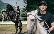 """ออร่าพุ่ง!! """"เจมส์จิ"""" ฝึกขี่ม้าจนได้ช็อตเด็ด!! ลงละคร หนึ่งด้าวฟ้าเดียว เท่สุดๆ"""