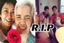 สุดเศร้า ป๊อป อารียา สูญเสียคุณแม่ พิธีศพขอจัดเป็นการส่วนตัว-งดรับพวงหรีด