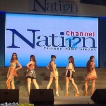 รูป คอนเสิร์ตงาน Nation Channel เมื่อวันเสาร์ที่ผ่านมา