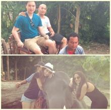 รักหวานฉ่ำ!ปู-โน้ต อาสาเป็นไกด์ พาเพื่อนฝรั่งเที่ยว ประเทศไทย !