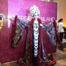 ชมชัดๆ นี่แหล่ะ! ชุดไทยสร้างสรรค์ยอดเยี่ยม!!! เวทีมิสยูนิเวิร์สไทยแลนด์ 2015