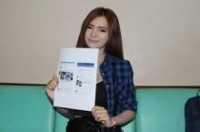 พริตตี้สาวโนเกียร์ แม๊กซิมร้องสื่อ ถูกนำรูปไปแชร์มั่วๆกล่าวหาเป็นสาวโดดตึก
