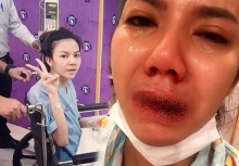 'จ๊ะ อาร์สยาม' น้ำตานองแถลงอาการป่วยเลือดออกปากออกจมูก!!