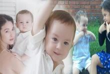 ภาพน้องลูก้า ลูกชาย พอลล่า เผลอแป๊ปเดียวหน้าหล่อ งานดีมาก