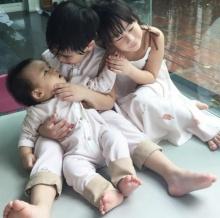 มาดูความน่ารักของ3ออ3แสบ ลูกพ่อเปิ้ล นาครกัน !!