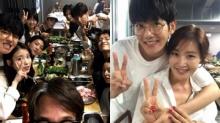 แบคฮยอนEXO ไอยู อีจุนกิ จีซูและเหล่าเซเลบเข้าร่วมปาร์ตี้ปิดกล้อง Scarlet Heart Goryeo