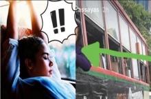 ญาญ่า รถติดกลางถนน แล้วแฟนคลับในรถเมล์ทำแบบนี้กับเธอ!