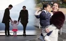 ครอบครัวอบอุ่น! แม่เมย์-พ่อหนุ่ม จูงมือลูกสาวเที่ยวรับลมหนาวที่ญี่ปุ่น