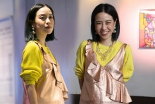 พลอย หอวัง ดี๊ด๊าร่วมงานนัดพบสำหรับคนรักงานศิลปะ พร้อมศิลปินแถวหน้าของเมืองไทย