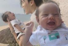 น้องควินน์ ลูกแม่เจน ฉายแววหล่อ  ยิ้มร่าทั้งวัน