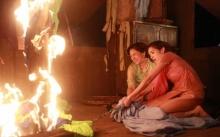 """""""แหม่ม-นุส"""" ขวัญเสีย!! เจอไฟไหม้กลางกอง เมืองมายา Live"""
