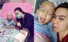 """อัพเดทอาการ """"น้องสกาย"""" หลังเข้ารับคีโมรักษามะเร็งรอบที่ 4 บอก!! หนูอยากเดินจังเลย"""
