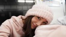 น่ารักใสใส! เดียร์น่า ฟลีโป ลุคสวยใสสุดน่ารัก ตะลุยอากาศหนาวที่ญี่ปุ่น