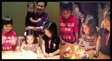 วันเกิดสุดอบอุ่น  น้องณดา ครบ 2 ขวบ