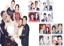 คู่รัก-คู่ร้าง ดารา ปี 2556