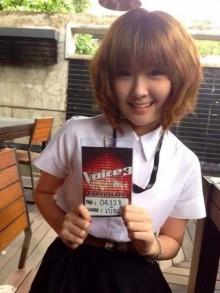 เบียร์ – ภัสรนันท์ นางฟ้าจากเวที The Voice Thailand
