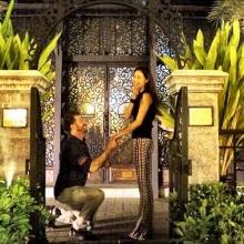 น้ำฝน กุลณัฐ สุดฟิน แฟนฝรั่งคุกเข่าขอแต่งงาน
