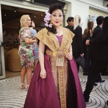 งามอย่างไทย ซูซี่ หทัยเทพ ธีระธาดา อีกหนึ่งหญิงไทยบนพรมแดงเมืองคานส์ 2015