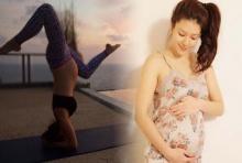 สตรอง!!'ลิเดีย' อุ้มท้อง 7 เดือนโชว์โยคะท่ายาก!!
