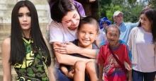 งามทั้งตัวและใจ ! รวมภาพความอบอุ่น ของปู ไปรยา ที่ค่ายผู้ลี้ภัย เธองามที่จิตใจจริงๆ