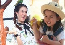 """""""เมย์"""" ควง """"น้องมายู"""" เที่ยว ชม ช้อป แชะ """" The Field Animals Dream  ทุ่งแห่งความฝันของเด็ก..เด็ก"""