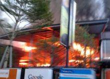 ไฟไหม้ร้านชาบูคิงของดาราสาว เจี๊ยบ พิจิตรา วอดเกือบ 10 ล้านบาท