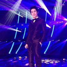 สน ยุกต์ ปลื้มรับรางวัลThe most popular overseas Artist ที่จีน