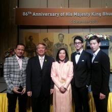 เจมส์ จิรายุ ร่วมงานวันพ่อที่สถานทูตไทย ในเกาหลี หล่อขึ้นชัดเจน