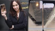 รวยตัวแม่!!! อั้ม ได้ใช้แล้ว! iPhone 6 Plus ทองคำแท้สุดหรู!!!