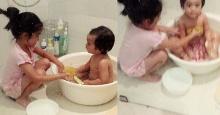 จะเกิดอะไรขึ้นเมื่อ 'พี่ณดา'รับอาสาอาบน้ำให้'น้องณดล'(มีคลิปนะจ๊ะ)