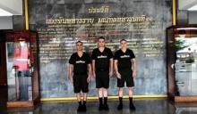 ชิน นำทีม 3 หนุ่ม รายงานตัวเป็นทหารแล้ว!