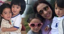 น่ารักไหมล่ะ!! เมื่อ แม่กบ พาลูก น้องณดา-น้องณดล มาเปลี่ยนทรงผม