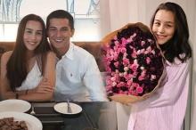 หวานมาก! ชิน ชินวุฒิ ส่งดอกไม้เซอร์ไพรส์วันเกิด ลิลลี่ ภัณฑิลา ถึงหน้าบ้าน