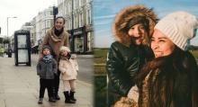 ครอบครัวสุขสันต์ เวย์-นานา พาลูกแฝดเที่ยวอังกฤษ