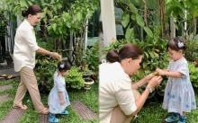 """เอ็นดู๊วววว!! """"น้องเป่าเปา"""" จูงมือยาย """"จิ๋ม มยุรฉัตร"""" เดินชมสวน พร้อมขอส้มจี๊ดยายกลับบ้าน!!"""
