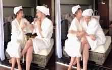 """จะเกิดอะไรขึ้น? เมื่อ """"มะม่วง"""" อัดคลิปแกล้งสามี """"อ้วน รังสิต"""" บอก!! ไปอาบน้ำด้วยกันมั้ย? (มีคลิป)"""