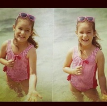 มาแอบดู!ดารา(สมัยเด็ก)ในชุดว่ายน้ำ