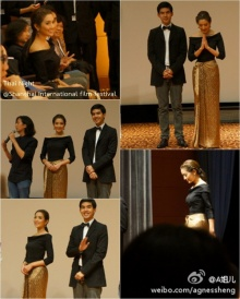 แอฟประยุกต์ผ้านุ่งไทยเป็นชุดสวยอวดสายตาแฟนจีน
