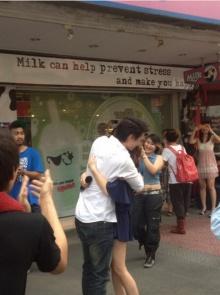 ฮือฮา !! ลิเดีย โผล่เซอร์ไพร์ส แมทธิว ในวันวาเลนไทน์ ทำแฟนหนุ่มน้ำตาไหล