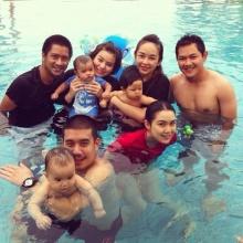 3 ครอบครัวดาราสานสัมพันธ์3หนุ่มน้อยพาเที่ยวทะเลสุดแฮปปี้!