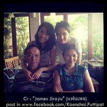 เผยภาพพ่อ-แม่-พี่สาว เจมส์ จิรายุ น่ารักยกครอบครัว