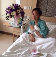 น้องเพลง ลูกแม่ตู่ นันทิดา ป่วยเข้าโรงพยาบาล