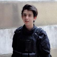 เปิดประวัติ ชาโน แพมเบอร์เกอร์ หนุ่มลูกครึ่งสุดหล่อผู้สมัครเป็นทหารลงพื้นที่ 3 จังหวัด