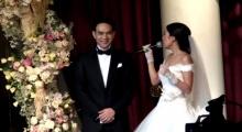 โบว์ สาวิตรี ร้องเพลงเซอร์ไพรส์เจ้าบ่าวในงานแต่ง