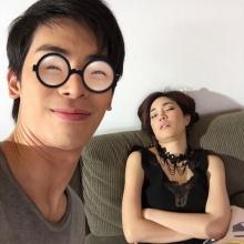 ฮากร๊าก!!! เมื่อ สน สุดแสบแอบถ่าย เมย์ นอนหลับท่านี้ คริคริ
