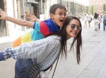 สดใสน่ารัก!! ญาญ่า บินลัดฟ้าเที่ยวสเปนกับครอบครัว